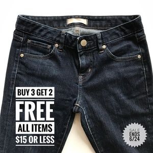 Uniqlo Super Skinny Fit Tapered Low Rise Jeans
